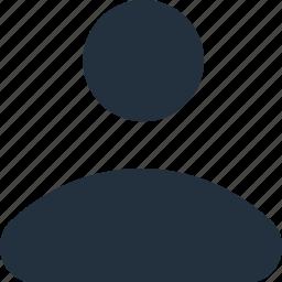 account, male, person, profile, user icon