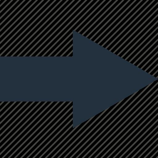 arrow, direction, next, previous, right icon