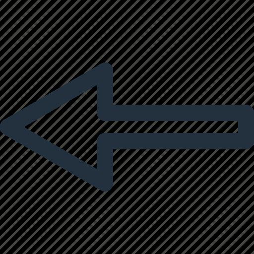 arrow, direction, left, navigation, next, previous icon