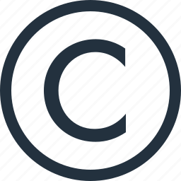 copy, copyright, mark, right, rights icon