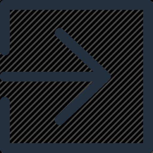 app, arrow, exit, next, previous, right, to icon