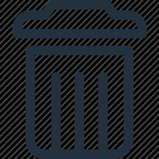 delete, garbage, recycling, remove, trash icon