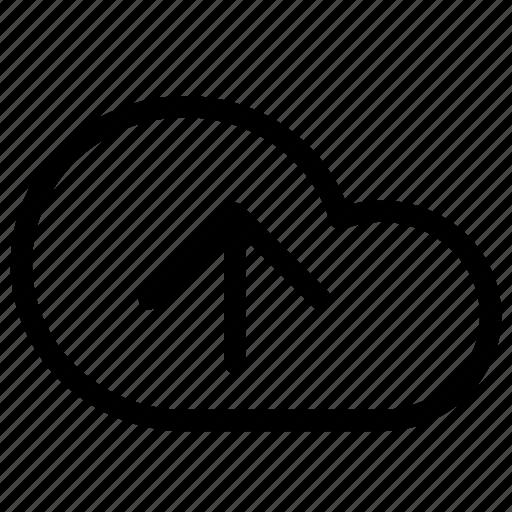 Cloud, upload, data, database, network, server, storage icon - Download on Iconfinder
