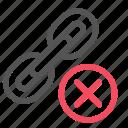 building, chain, delete, link, remove, seo