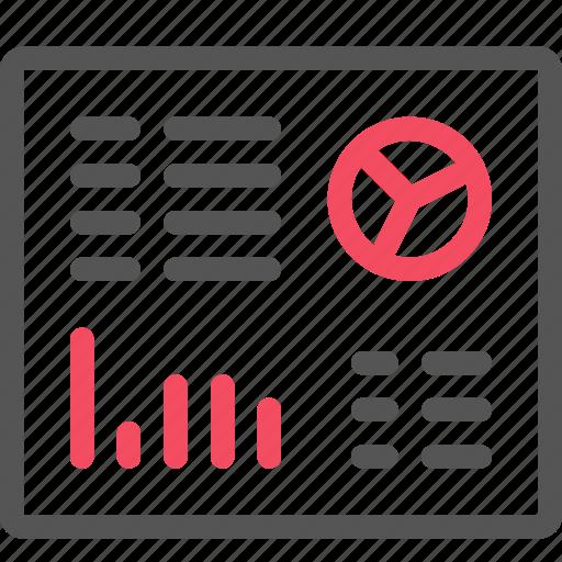 analytics, chart, dashboard, report, seo icon