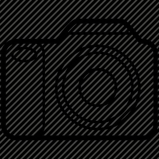 camera, dslr, fullframe, photo icon
