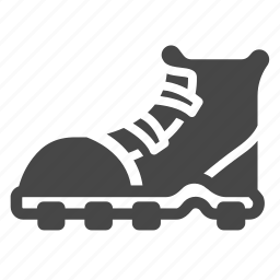 boot, equipment, footwear, hiking, hiking boot, shoes, tool icon