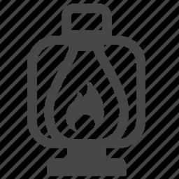 camping, hiking, lamp, lamplight, lantern, light, torch icon