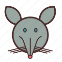 calendar, chinese, face, mouse, new, year icon