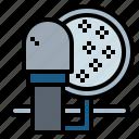 microphone, recorder, studio, voice icon