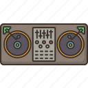 dj, mixer, sound, controller, record