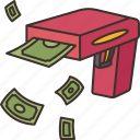 gun, money, rich, wealth, toy