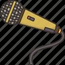 microphone, sing, karaoke, performance, speak