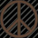 peace, antiwar, sign, hippie, hope