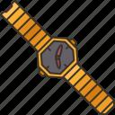 wristwatch, accessory, luxury, elegance, fashion