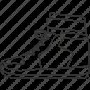 sneaker, shoe, footwear, fashion, clothing