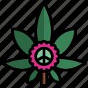 cannabis, weed, marijuana, peace, flower