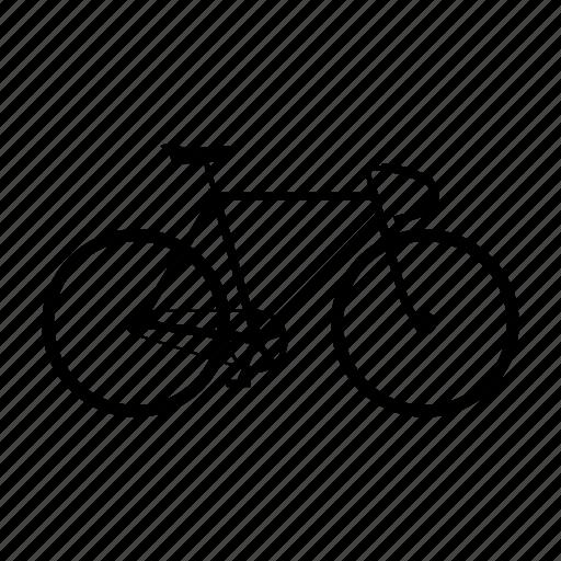 bike, fixie, hipster, sport, vintage icon