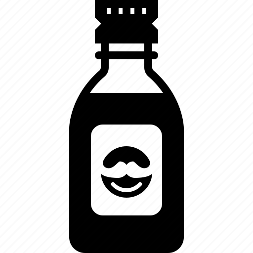 aftershave, barber, hipster, oil, shaving, water, yumminky icon