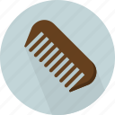 artistic, comb, device, manage hair, salon, styling, toothed icon