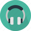 auricular, device, headphones, hipster, indie-rock, music, wear icon