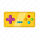 cartoon, console, controller, electronic, game, joystick, retro icon