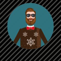 cartoon, curl, face, logo, man portrait, moustache, mustache icon
