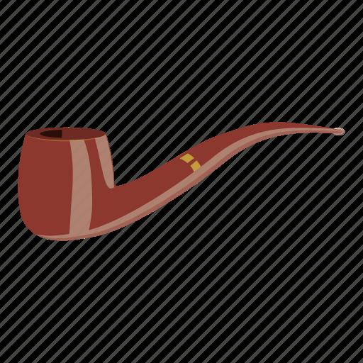 cartoon, full, logo, old, pipe, smoke, smoking pipe icon
