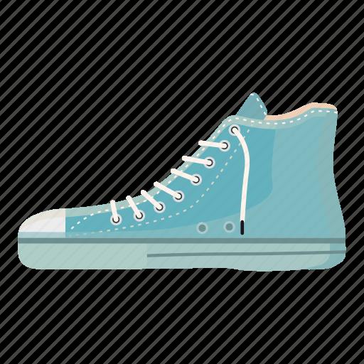 blue boot, cartoon, casual, clock, foot, footwear, logo icon