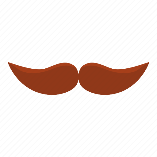 cartoon, curl, face, logo, mustache, old, thick mustache icon