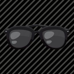 beach, cartoon, eye, logo, summer, sunglasses, wear icon