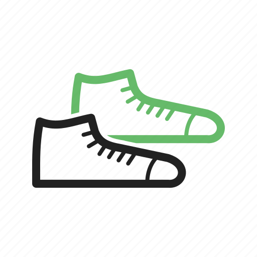 exercise, fashion, footwear, running, shoe, shoes, sneakers icon