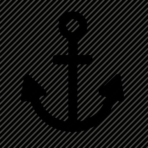 anchor, hispter, modern, retro, style, vintage icon