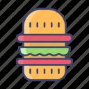 burger, fastfood, food, junkfood, hamburger
