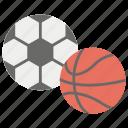 baseball, football, olympic game, physical game, sports balls icon