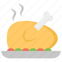 chicken piece, fooding, fried chicken, grill chicken, roasted chicken icon