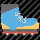 inline skate, roller skate, rollerblading, skating shoe, snow skate, wheel shoes icon