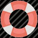 inner tube, life saver, lifebuoy, pool float, pool tire icon