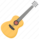 acoustic guitar, classic guitar, guitar, hobby, musical instrument icon