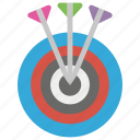 archery, dart board, olympics sports, shooting sport, target board icon