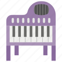 casio, keyboard piano, music, musical keyboard, piano, piano keyboard icon