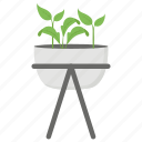 garden plant, gardner, grower, plant vase, planter icon