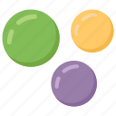 air bubbles, bubbles, marine, oxygen bubbles, soap bubbles, water bubbles icon