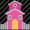 kids playhouse, kindergarten playhouse, pet house, playground, toy house icon