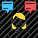 foreign language learning, learning foreign language, translation, translator icon