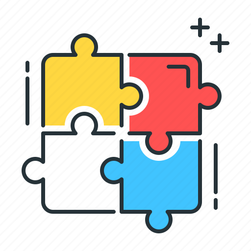 jigsaw, jigsaw puzzle, pieces, puzzle icon