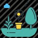 gardening, landscape, flower, plants, landscaping