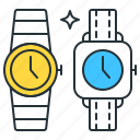 collector, watch, clock, time, wrist icon