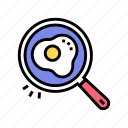 cooking, egg, frying, hobby, leisure, time