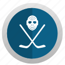 app, game, hockey, mask icon